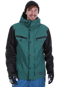 686 Transit Snowboard Jacke insulated  (teal denim)