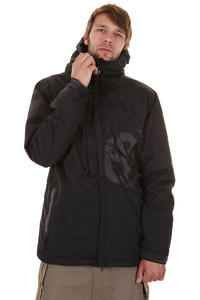 686 Mannual Iconic Snowboard Jacke (black)