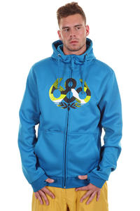 686 Icon Tech Fleece Snow Zip-Hoodie (blue)