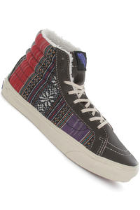 Vans Sk8-Hi Slim Schuh girls (guate stripe demitasse turtledov)