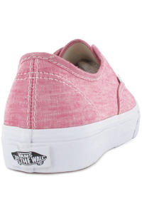 Vans Authentic Slim Schuh girls (chambray red true white)
