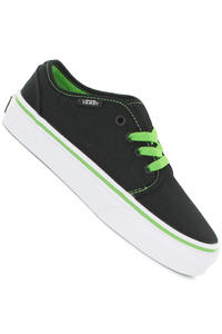 Vans 106 Vulcanized Shoe kids (black green flash)