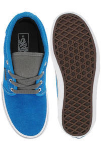 Vans Chukka Low Suede Canvas Schuh kids (bright blue pewter)