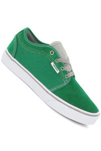 Vans Chukka Low Suede Canvas Schuh kids (green white)