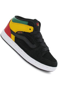 Vans Edgemont Suede Leather Schuh kids (black jasmine green)