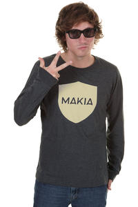 Makia Monterosso Longsleeve (dark grey)