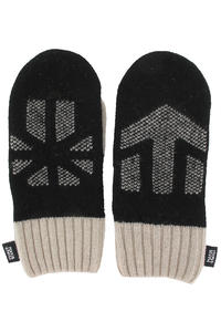 Makia x Etnies Mittens Handschuhe (black nature white)