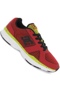 DC Unilite Trainer Shoe (athletic red white)