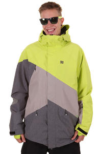 DC Wishbone Snowboard Jacke (lime shadow)