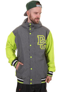DC DCLA Snowboard Jacket (dark shadow lime)
