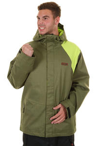 DC Habit Snowboard Jacke (olive lime)