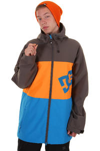 DC Abram Snowboard Jacke (dark shadow orange)