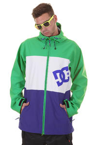 DC Abram Snowboard Jacke (emerald white)