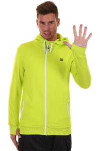 DC Cooper Snow Zip-Hoody (lime)