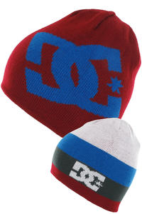 DC Anthony Beanie reversible  (biking red)