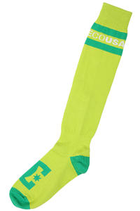 DC Apache Lite Socks US 8-13  (lime)