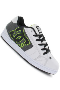 DC Net SE Schuh (white black soft lime)