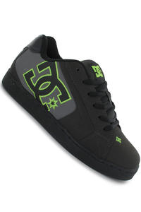 DC Net Schuh (pirate black soft lime)