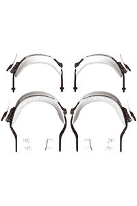 Switchback Straps Bindung (powder white)