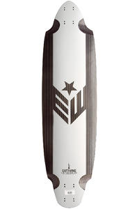 "Earthwing Belly Racer Carbon 37.5"" (95cm) Longboard Deck"