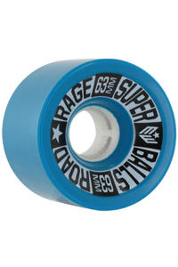 Earthwing Road Rage 63mm 81a Rollen 4er Pack  (blue)