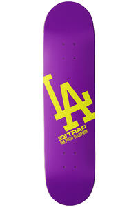 "Trap Skateboards LA 7.75"" Deck (purple)"