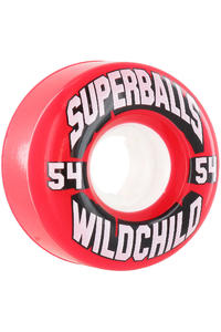 Earthwing Wildchild 54mm 78a Rollen 4er Pack  (red)
