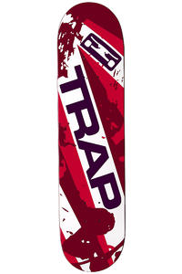 "Trap Skateboards Splatter 7.625"" Deck"