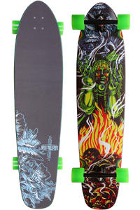 Riviera Conjured Spirits LG 42&quot; (107cm) Komplett-Longboard (green yellow)