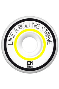 EMillion Like A Rolling Stone Series 50mm Wheel 4er Pack  (yellow)
