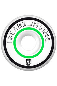 EMillion Like A Rolling Stone Series 51mm Rollen 4er Pack  (green)