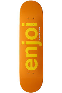 "Enjoi x SK8DLX 7.75"" Deck (orange)"