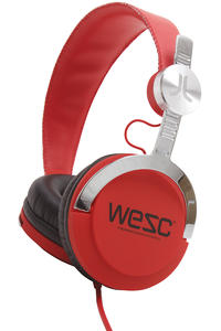 WeSC Bass Headphones (true red)