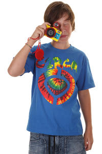 C1RCA Icon Tye Dye T-Shirt kids (royal blue)