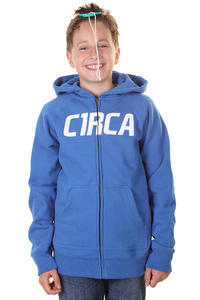 C1RCA Mainline Font Zip-Hoodie kids (royal blue)
