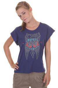 DC Owl T-Shirt girls (blue print)