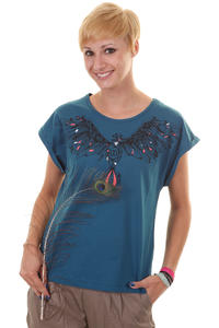 DC Bird T-Shirt girls (deep blue)