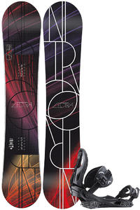 Nitro Lectra Neon Zero 146cm / Raiden Rythm S Snowboardset 2012/13  girls