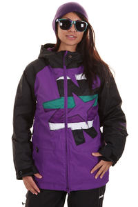 Nikita Okmok Snowboard Jacket girls (black purple)