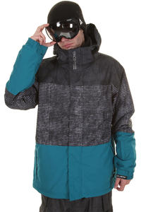 Billabong Stripey Snowboard Jacke (black)