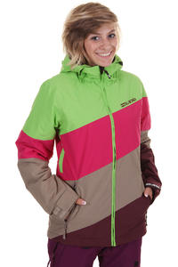 Billabong Milouze Snowboard Jacke girls (bud green)