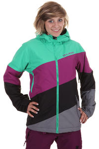 Billabong Milouze Snowboard Jacke girls (pool green)