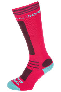 Billabong Party Socks US 7 - 12  (pink lady)