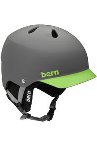 Bern Watts EPS Snow-Helm (matte grey green brim)