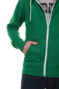 Element Smith Zip-Hoodie (green flash)