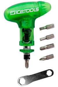 Icetools Cool Snow-Tool (clear green)