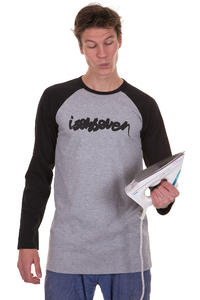 Isenseven Script Longsleeve (grey black)