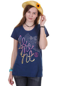 Element Birdie T-Shirt girls (estate blue)