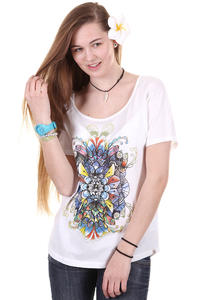 Element Henna Burst T-Shirt girls (white)