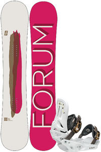Forum Aura 149cm / Aura Ballad M Snowboardset girls